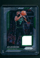 2020-21 Panini Prizm NBA GAME USED JERSEY RELIC Jaylen Brown BOSTON CELTICS 🔥
