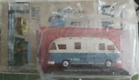 IXO 1/43 CAMPING-CAR HANOMAG HENSCHEL ORION 1973 + FASCICULE NEUF EN BOITE