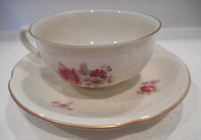 MOSA MAASTRICHT CUP & SAUCER SET FLORAL DESIGN MADE IN HOLLAND set #50