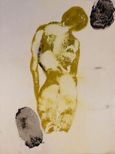 Dessins et lavis du XXe siècle et contemporains signés abstraits personnage