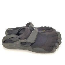 B62 Vibram Mens Black Five Fingers Running Shoes Size 40