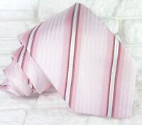 Cravatta uomo seta Regimetal Rosa marrone Made in Italy business / matrimoni
