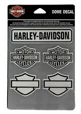 Harley Davidson sticker -/aufkleberset 3 d modelo decal Sheet bar & Shields