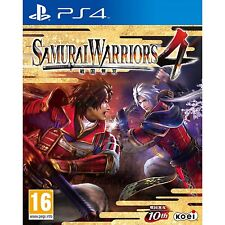 PS4 Games Samurai Warriors 4 Brand New & Sealed