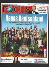 Focus Magazin Neues Deutschland John Irving neu und ungelesen
