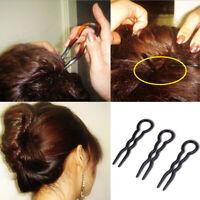 Tools Hair Accessories Hair Fork Plastic  U Shape Hair Clip Hair Stick Hairpin