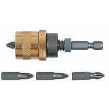 5 tlg Profi Bithalter Schraubvorsatz magnetisch Bit Bits Trockenbau 1/4 Zoll
