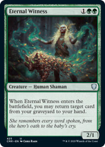 Eternal Witness - Theme Deck Exclusive x1 Magic the Gathering 1x Commander Legen
