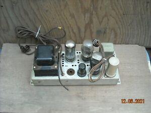 Vintage RCA Mono 6F6G Model RS-123 Tube Amplifier