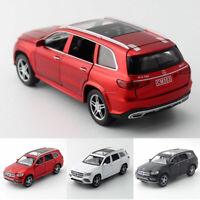 1/32 GLS 580 SUV Die Cast Modellauto Auto Spielzeug Model Sammlung Pull Back