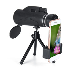 80x100 Magnification Portable Monocular Telescope Powerful Binoculars Zoom