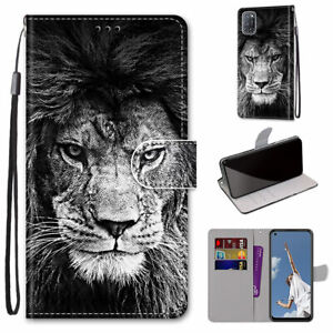 For OPPO A52 A92 A72 Alcatel 1S 2021 Nokia 2.4 Flip Magnetic Leather Case Cover