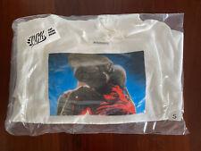 FW15 SUPREME E.T. HOODED SWEATSHIRT HOODIE WHITE SMALL 2015 box logo