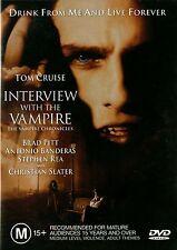 INTERVIEW WITH THE VAMPIRE - Tom Cruise, Brad Pitt, Antonio Banderas  DVD Reg 4