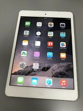 "Apple iPad Mini 2 Tablet 16GB Storage 7.9"" WiFi ME279LL/A White/Silver ~ A Grade"