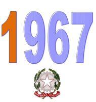 ITALIA Repubblica 1967 Spezzoni Francobolli MNH **