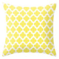 Yellow pillow case cover sofa car waist throw cushion cover Home Decor Geom J2Y5