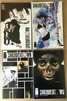 Shuddertown 1-4 complete crime comic series