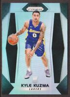 2017-18 Panini Prizm Basketball Prizms Silver #283 Kyle Kuzma Los Angeles Lakers