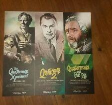 HAMMER HORROR FILMS / QUATERMASS Trilogy art print poster Nigel Kneale