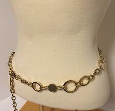 Women's Gold Tone Chain Circle Belt Sophisticated STYLE!