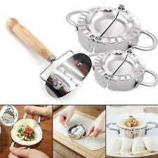 Набор из 2pcs пельмень пресс-форма для изготовления ломтерезка/резак тяжелых сделай сам легко кухни инструмент