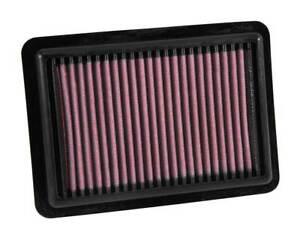 K&N Hi-Flow Performance Air Filter 33-5027 fits Honda Jazz 1.3 HYBRID (GE), 1...