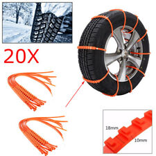 20Pc Winter Anti-skid Chains for Car Snow Mud Wheel Tyre Thickened Tire Tendon z
