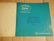 """RAY ANTHONY and his ORCHESTRA - CAMPUS RUMPUS - 10""""-LP - TELEFUNKEN / CAPITOL"""