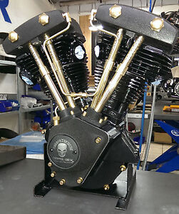 Harley Panhead Shovelhead Evo Sportster Motor Instandsetzung