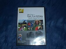 NIKON School dvd Fast, Fun & Easy Great Digital Pictures for D40 and D40x SLR