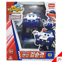 Super Wings New Season3 KIM Police Team Transformer Robot Figure Toy - 5""