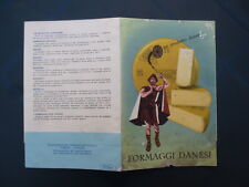 Depliant,Brochure,Formaggi Danesi,LURMAERKET,Samsoe,Fynbo,Danbo,Emmental,Maribo
