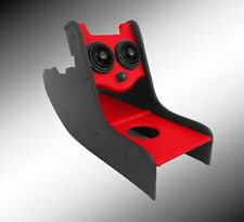 Custom Consoles Centre Console for Classic Mini RED air vents c/lighter