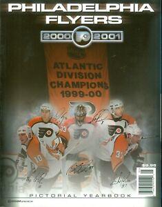 2000-01 Philadelphia Flyers Pictorial Yearbook