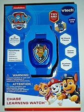"""Nickelodeon Paw Patrol Chase Learning Watch By Vtech """"NEW"""""""