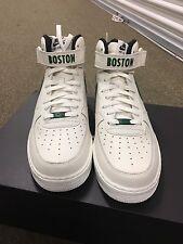 Nike Air Force 1 Mid Boston Celtics Sz 12 1 Of 5 ID One AF1 Sail Green IT4 PE