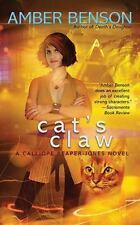 Cat's Claw (A Calliope Reaper-Jones Novel), Benson, Amber, Good Book