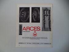 advertising Pubblicità 1970 ARCES FORCELLE E CERCHI - SAMARATE