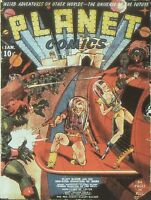 PLANET COMICS GOLDEN AGE COLLECTION PDF FORMAT ON DVD