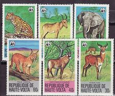 BURKINA FASO (Haute Volta) 1984 - MNH - Dieren / Animals WWF/WNF