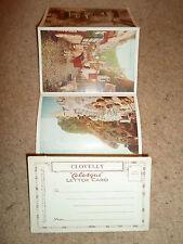 """Vintage Souvenir CLOVELLY """"Celesque"""" Colour Letter Card 5 Views"""