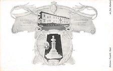 9007) SESTO FIORENTINO 1904 INAUGURAZIONE MONUMENTO UMBERTO 1 AL CASTELLO.