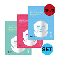 SNP BLUE, GREEN, RED TENSION  LIFTING MASK 3PCS SET!!, Korea Cosmetic