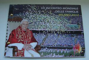 Numisbrief Vatikan 2 Euro Münze 2012