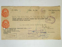 India GB Foreign Bill 1951 w/ BOMBAY PROVINCE overprint