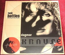 DAGMAR KRAUSE..TANK BATTLES SONGS OF HANNS EISLER..VINYL LP EX+ 1988 ANTILLES