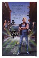 Repo Man Movie POSTER 27 x 40 Emilio Estevez, Harry Dean Stanton A, LICENSED NEW