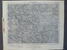 Karte des Deutschen Reiches 534 Kemnath, Pressath, Falkenberg, Mitterteich, 1915