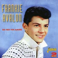First Five Albums - 2 DISC SET - Frankie Avalon (2012, CD NEUF)